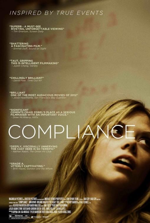 Compliance: la locandina del film