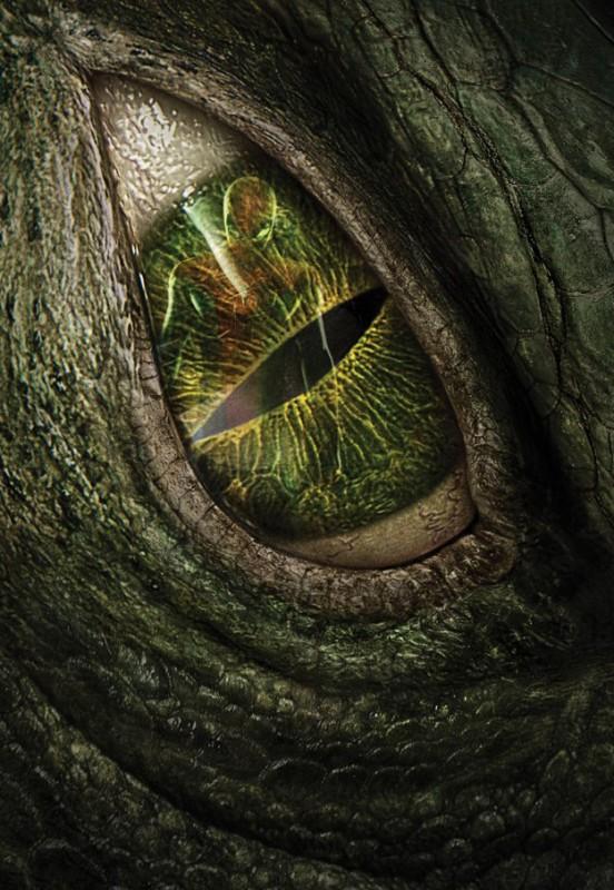 The Amazing Spider-Man: il riflesso di Spider-Man nell'occhio di Lizard