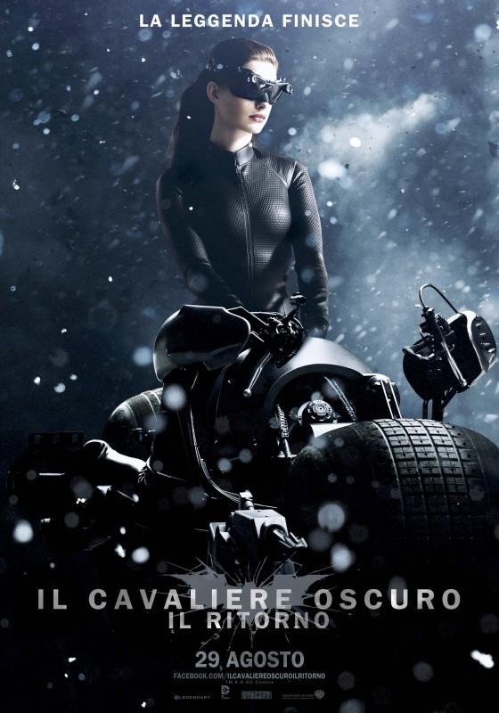 Il cavaliere oscuro - Il ritorno: il character poster italiano per Catwoman