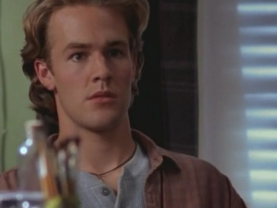 James van Der Beek in un momento dell'episodio L'uragano Cris della serie Dawson's Creek