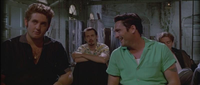 Le Iene: Michael Madsen, Steve Buscemi e Chris Penn in una scena del film
