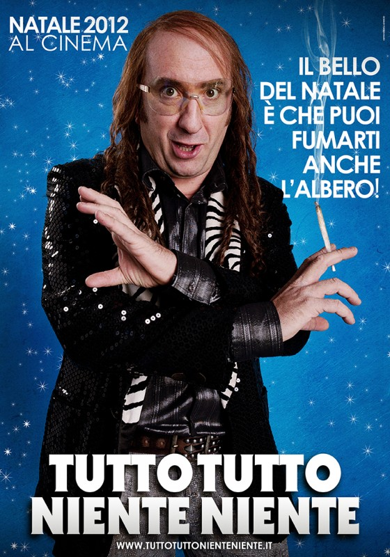 Tutto tutto niente niente: il teaser poster del film con Antonio Albanese nei panni di Frengo