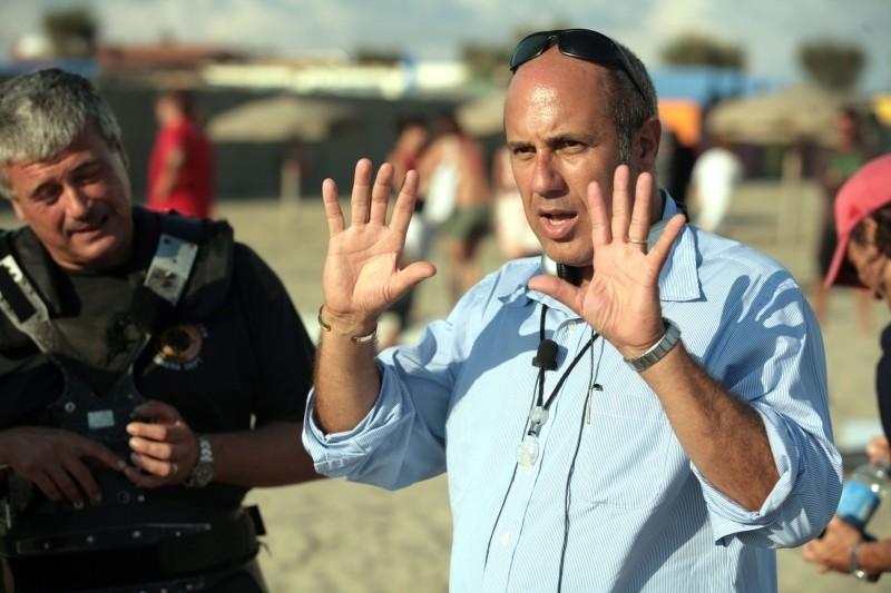 Universitari - Amori in corso: Federico Moccia sul set del film