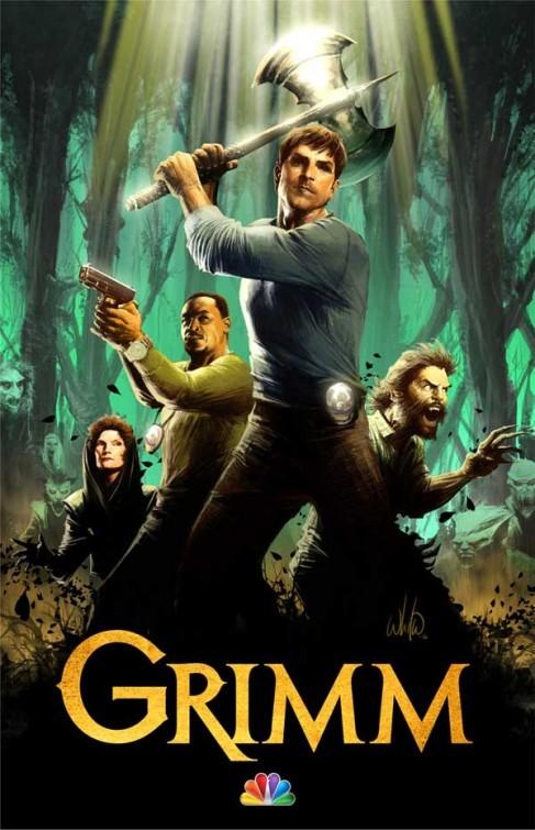 Grimm: un poster della seconda stagione