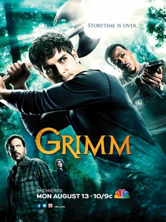 Grimm: un primo poster della seconda stagione