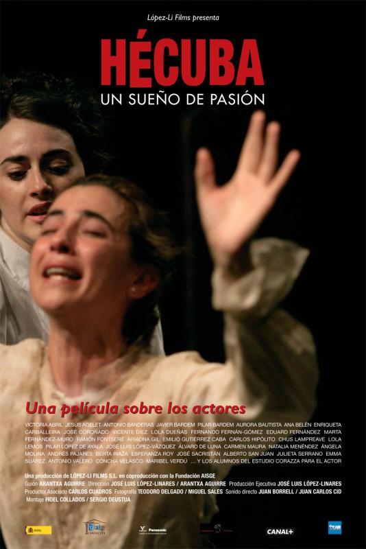 Hécuba, un sueño de pasión: la locandina del film