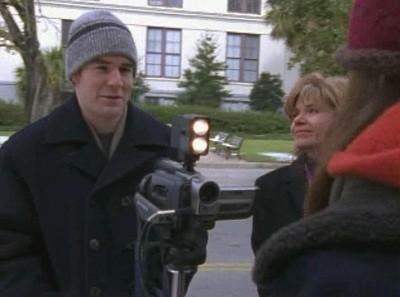James van Der Beek in una scena dell'episodio Decisioni difficili della serie tv Dawson's Creek