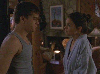 Joshua Jackson e Katie Holmes nell'episodio Sensi di colpa della serie tv Dawson's Creek