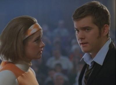 Joshua Jackson in un momento dell'episodio L'aurora boreale della serie tv Dawson's Creek