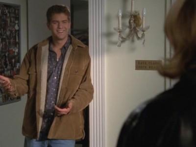 Joshua Jackson nell'episodio Scuola di ballo della serie tv Dawson's Creek