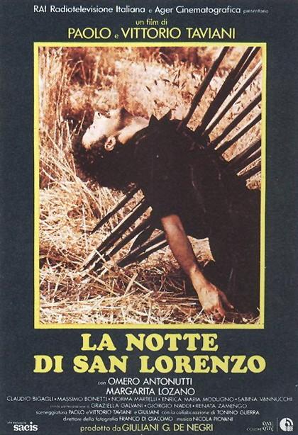 La notte di San Lorenzo : locandina originale