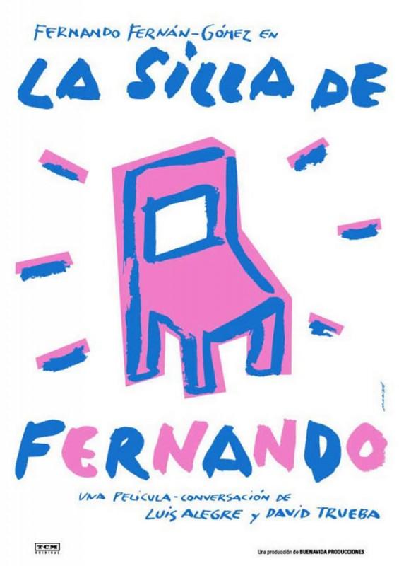 La silla de Fernando: la locandina del film