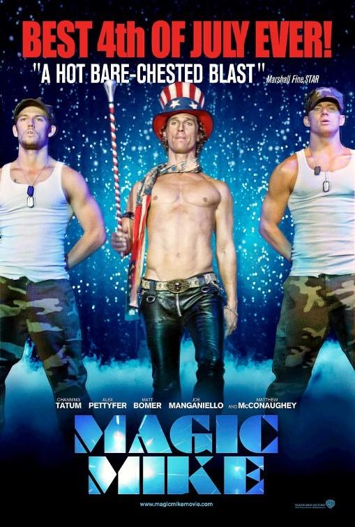 Magic Mike: un poster speciale per il 4 luglio USA