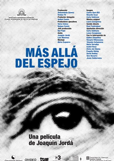 Más allá del espejo: la locandina del film