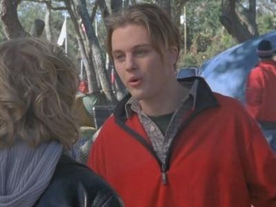 Michael Pitt in un momento dell'episodio Il grande passo della serie Dawson's Creek