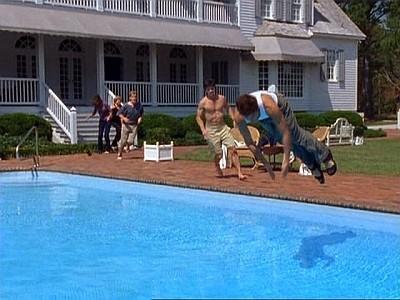 Un momento dell'episodio Tutto in una notte della seconda stagione di Dawson's Creek