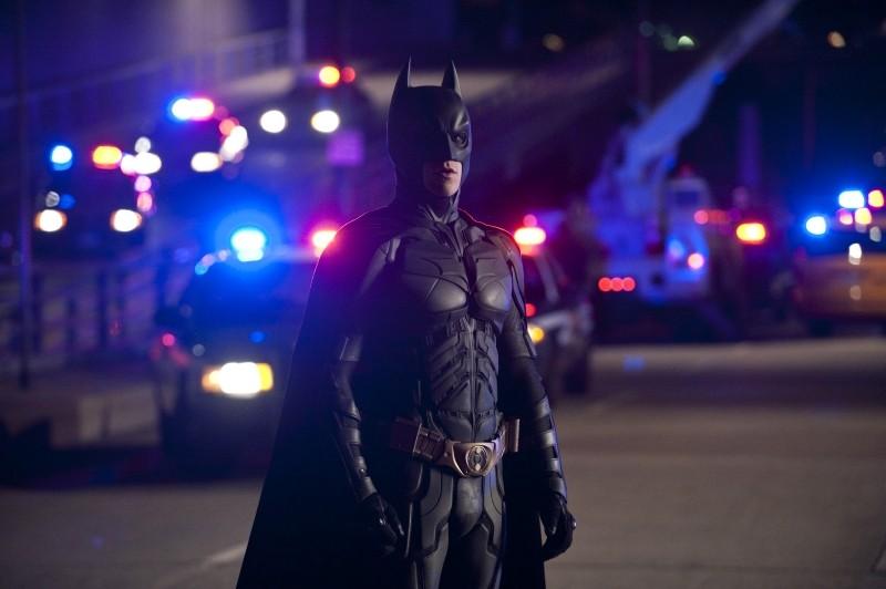 Il cavaliere oscuro - Il ritorno: Christian Bale nei 'panni' di Batman in una scena