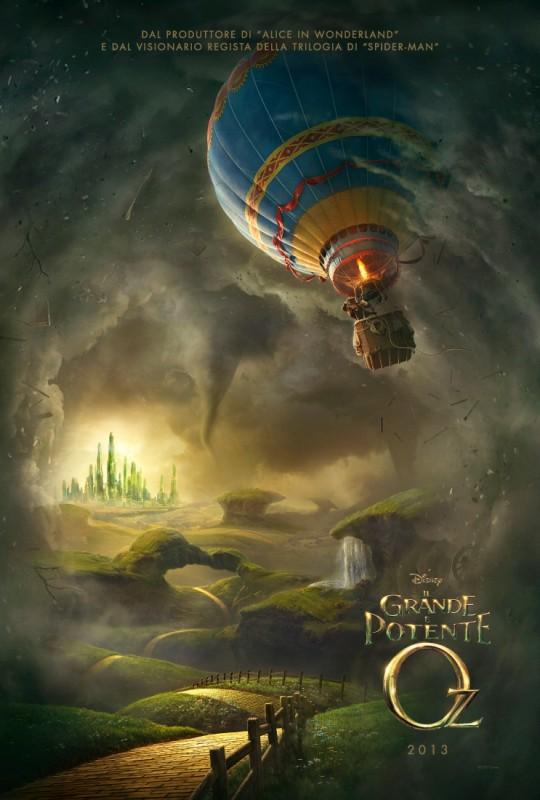 Il grande e potente Oz: teaser poster italiano