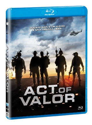 La copertina di Act of Valor (blu-ray)