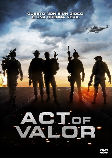 La copertina di Act of Valor (dvd)