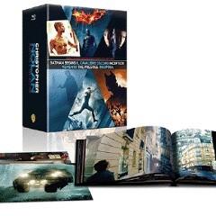 La copertina di Christopher Nolan Director's Collection (blu-ray)