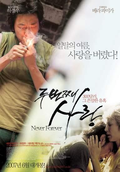 Never Forever: la locandina del film