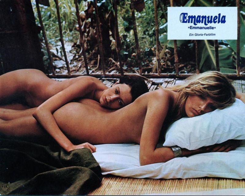 Sylvia Kristel in un'immagine promo di Emmanuelle