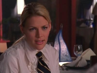 Busy Philipps in una scena dell'episodio L'altra Joey della serie Dawson's Creek