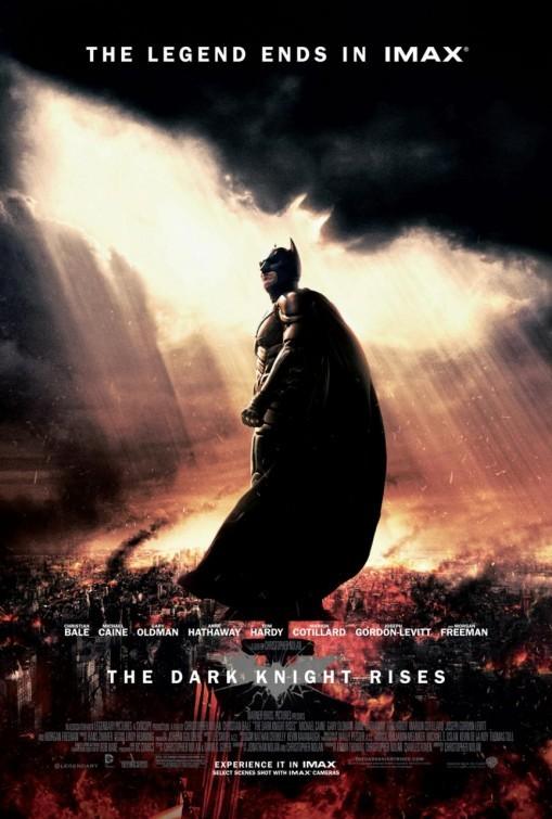 Il cavaliere oscuro - Il ritorno: nuovo poster per la versione IMAX del film