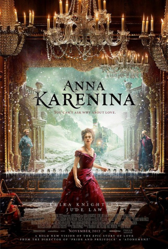 Anna Karenina: ecco la nuova locandina