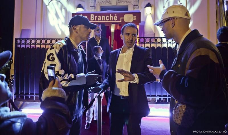 Elie Semoun, Medi Sadoun, Franck Gastambide in Les Kaïra