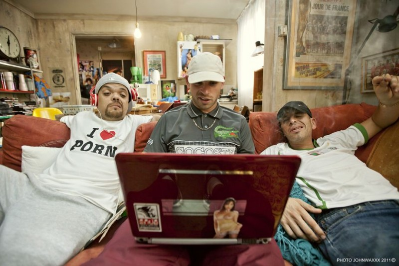 Jib Pocthier, Medi Sadoun, Franck Gastambide in Les Kaïra (2012)