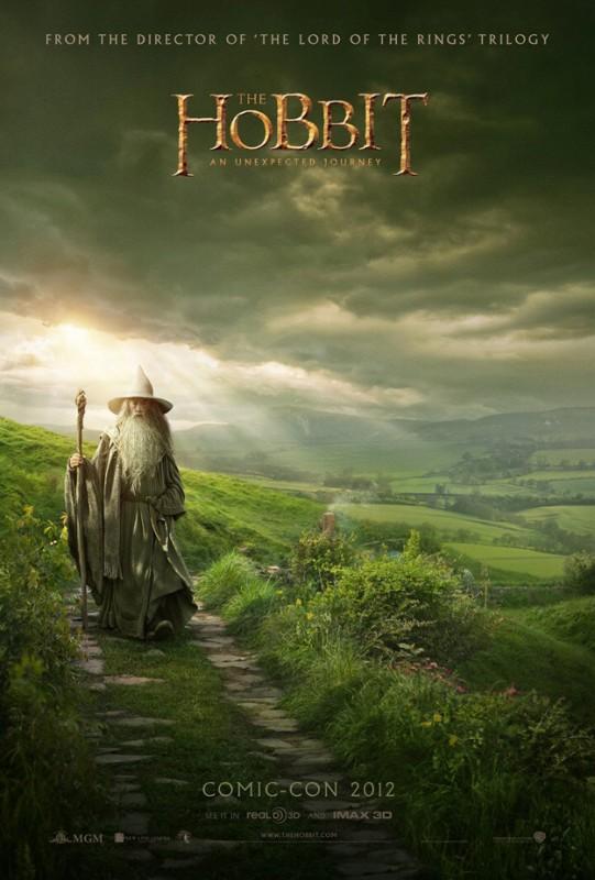Lo Hobbit - Un viaggio inaspettato: ecco il poster svelato durante il Comic Con