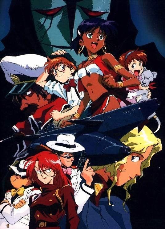 Poster della serie-tv Nadia - Il mistero della pietra azzurra