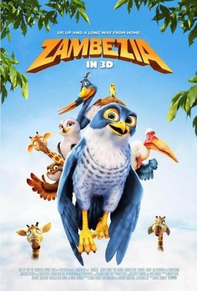 Zambezia: la locandina italiana del film