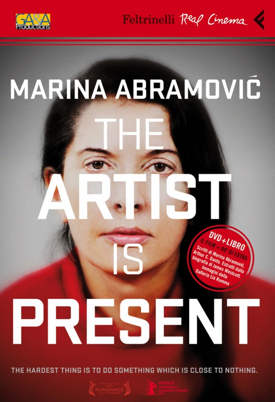 La copertina di Marina Abramovic: The Artist Is Present (dvd)