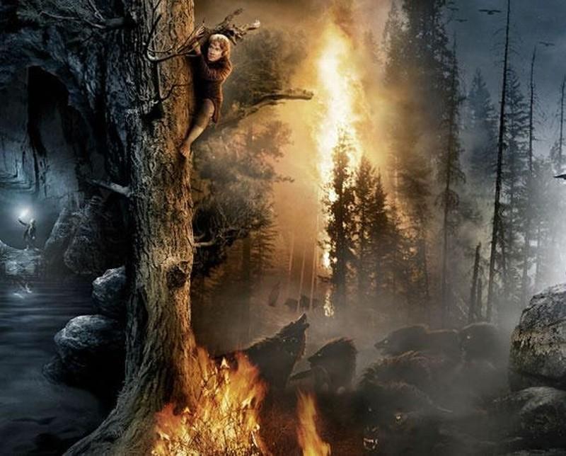 Lo Hobbit - Un viaggio inaspettato: Martin Freeman è Bilbo Baggins nella quarta immagine dell'artwork del Comic-Con 2012