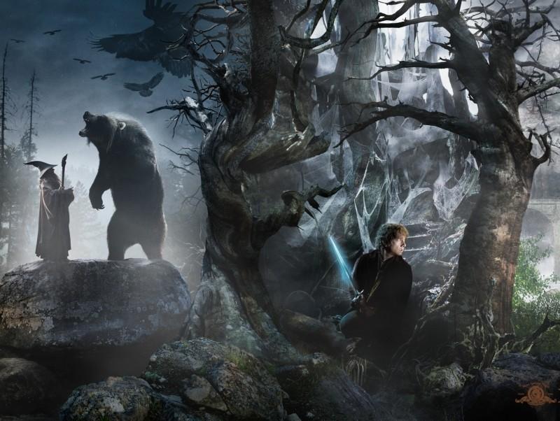Lo Hobbit - Un viaggio inaspettato: Martin Freeman nella quinta immagine dell'artwork del Comic-Con 2012