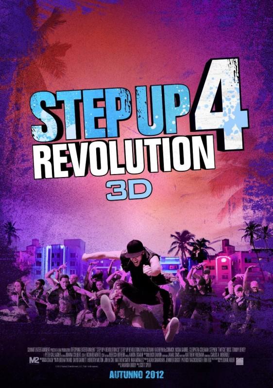 Step Up Revolution: il poster italiano del film