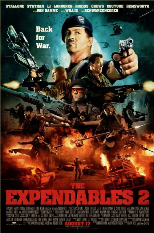 The Expendables: Comic Con Poster