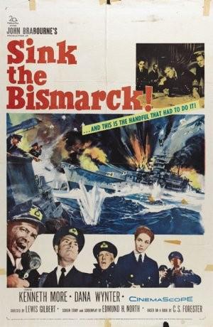 Affondate la Bismarck!: la locandina del film
