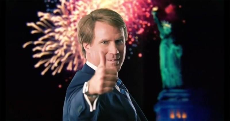 Candidato a sorpresa: Will Ferrell in una scena del film