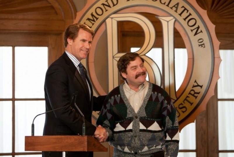 Candidato a sorpresa: Zach Galifianakis e Will Ferrell in una scena del film