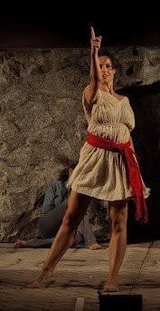 Contursi Paestum LORENZA CAROLEO in una scena di Upupa my Dream is My Rebel king per la regia di ANTONIO ORFANO'