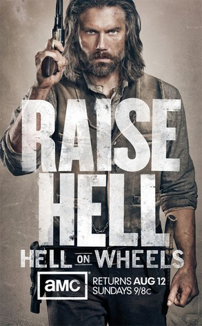 Hell on Wheels: un poster della stagione 2