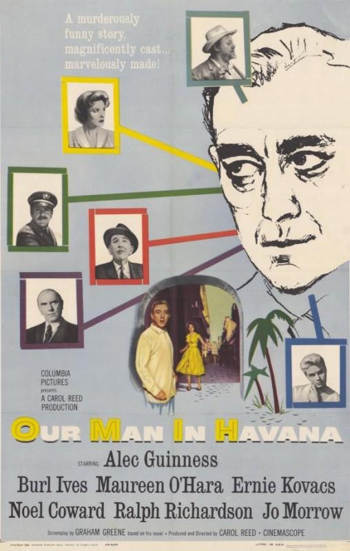 Il nostro agente all'Avana: la locandina del film