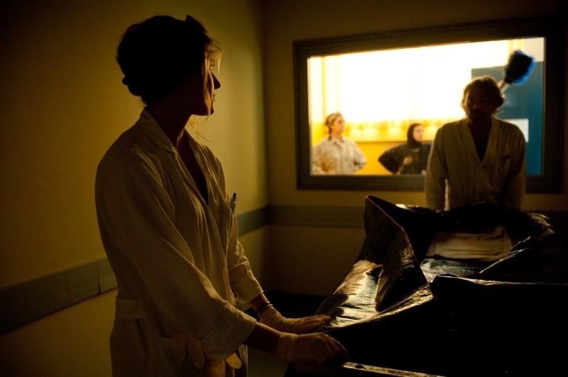 La variabile umana: Giorgia Senesi in una scena del film