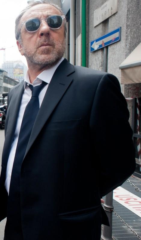 La variabile umana: il protagonista del film Silvio Orlando sul set