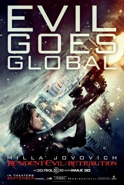 Resident Evil: Retribution: ecco la locandina del Comic Con