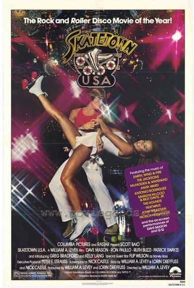 Skatetown, U.S.A.: la locandina del film